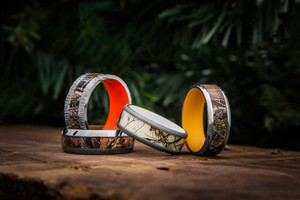3 Signs that Men's Camo Wedding Bands Will Never go Out of Style