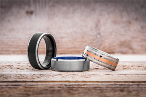 Mens wedding bands material: how to choose the best one