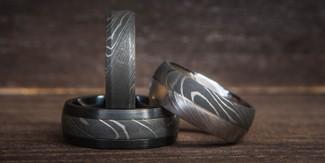 Damascus Rings