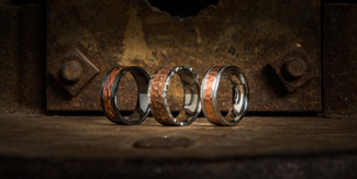 Rustbelt Copper Rings