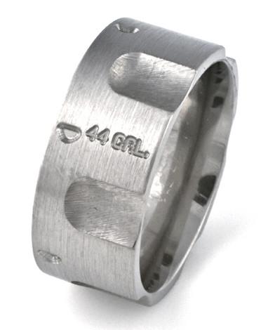 Men's Titanium Pistol Ring