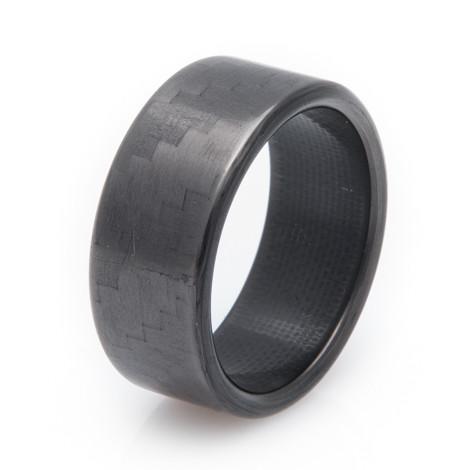 Men's 4x4 Carbon Fiber Ring