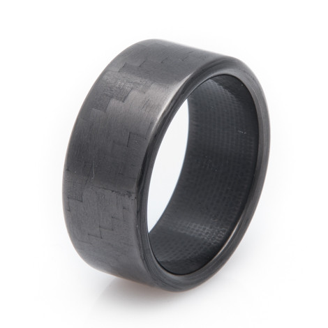 Men's 4x4 Carbon Fiber Ring