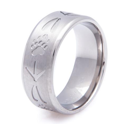 Men's Titanium All Tracks Ring