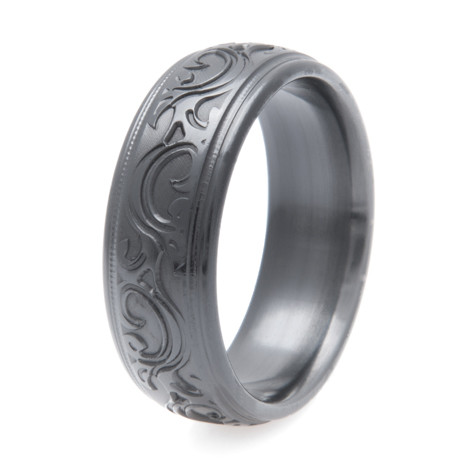 Men's Black Corral Western Ring