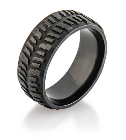 Men's Dark Mud Bogger Ring