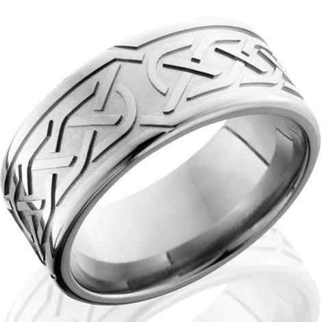 Carved Celtic Knot Ring