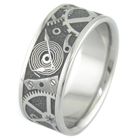 Chronos Titanium Ring