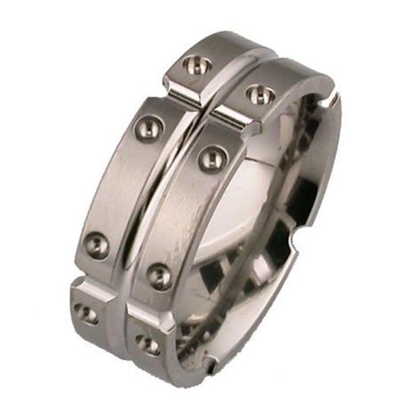 Flat Profile Ti Ring Segmented