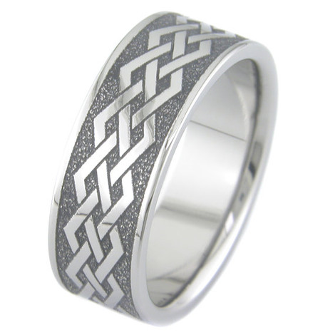 Straight Knots Celtic Ring