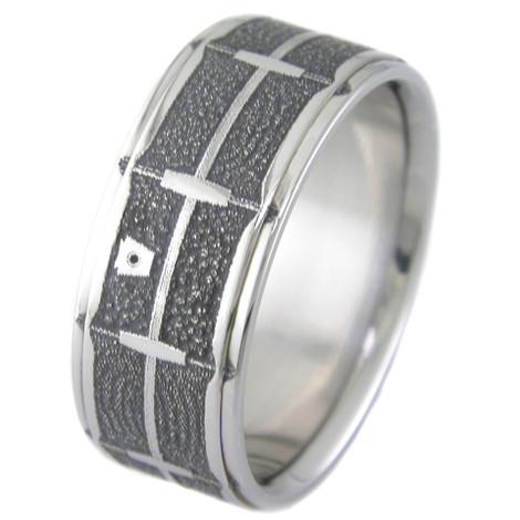 Laser Engraved Snare Drum Ring