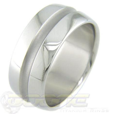 Men's Midchannel Titanium Ring