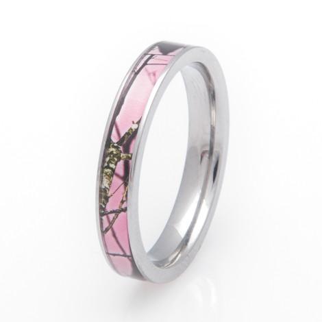 Women's Pink Mossy Oak Breakup Camo Ring