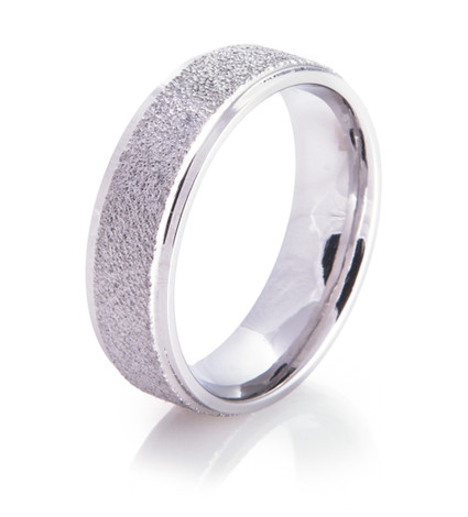 Raised Ice Arctic Series Titanium Ring