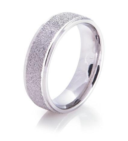 Raised Ice Arctic Series Titanium Ring