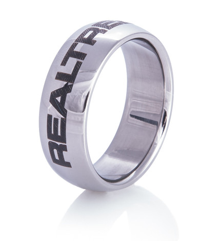 Titanium Laser Engraved Realtree® Ring