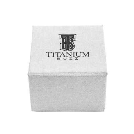 Men's Titanium  Shotgun Wedding Ring