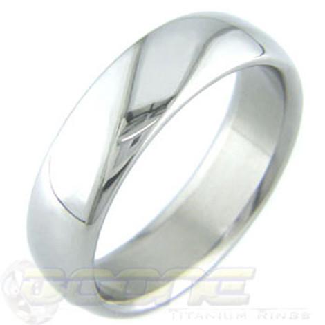 Simple Titanium Ring