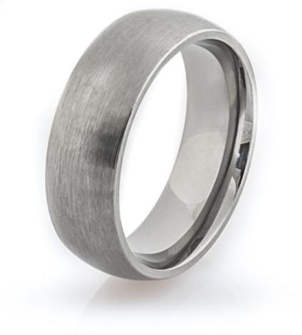 Standard Profile Titanium Ring