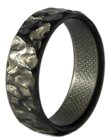 Rock Fiber Narrow Carbon Ring