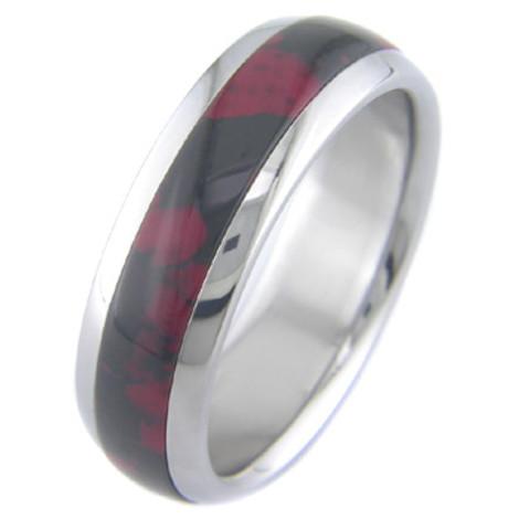 Titanium and Red/Black Jasper