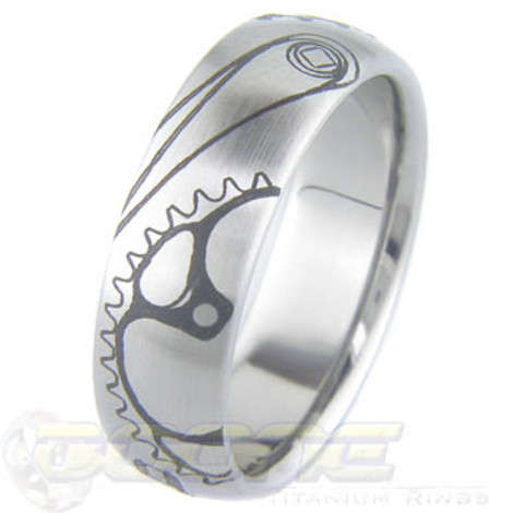 Titanium Bicycle Ring