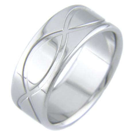 Titanium Infinity Ring