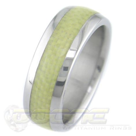 Men's Titanium and Kevlar Ring