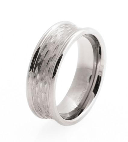 Men's Titanium Deer Rut Ring