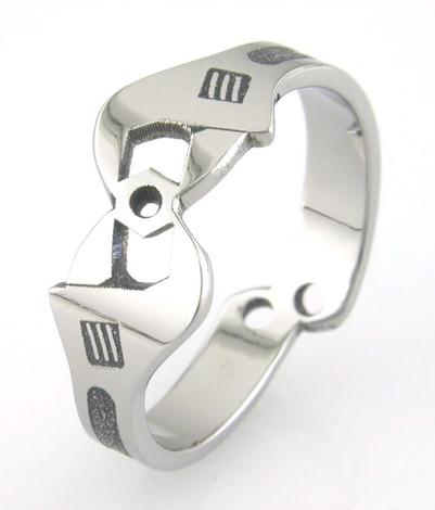 Men's Mechanica Titanium Wrench Wedding Ring