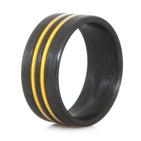 No Passing Carbon Fiber Ring
