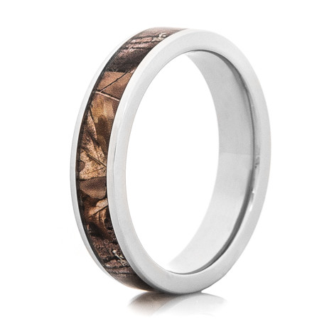 Women's Flat Profile Titanium Realtree® Camo Ring