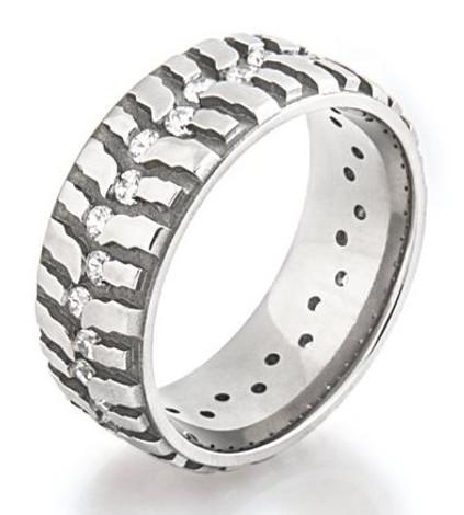 Women's Titanium Mud Bogger Ring2