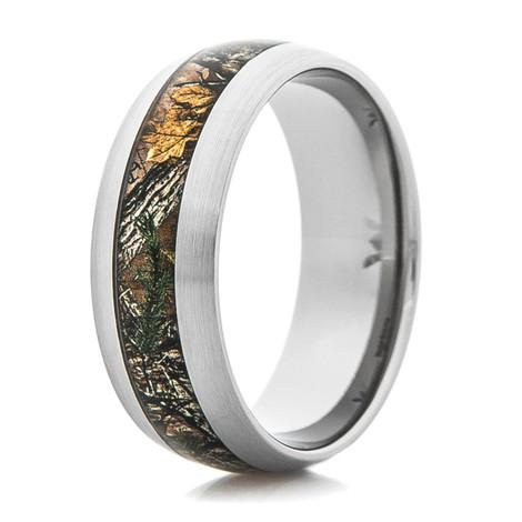 Men's Titanium Realtree® Xtra Camo Ring