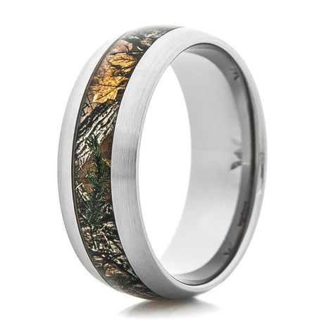 Men's Titanium Realtree® Xtra Camo Ring
