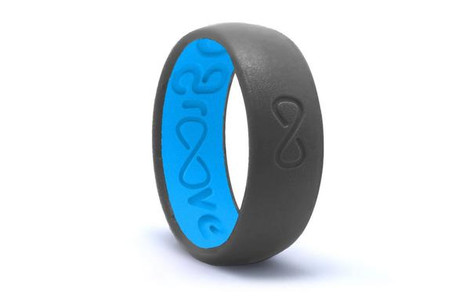 Groove Life Silicone Ring - Original Deep Stone Grey