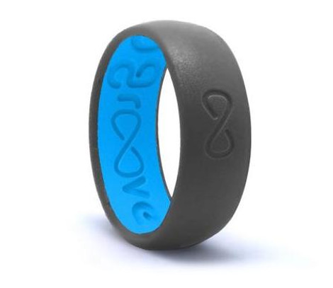 GROOVE ORIGINAL SILICONE RING - DEEP STONE GREY
