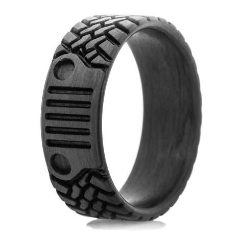 Off Road Inspired Tread & Grill Carbon Fiber Ring