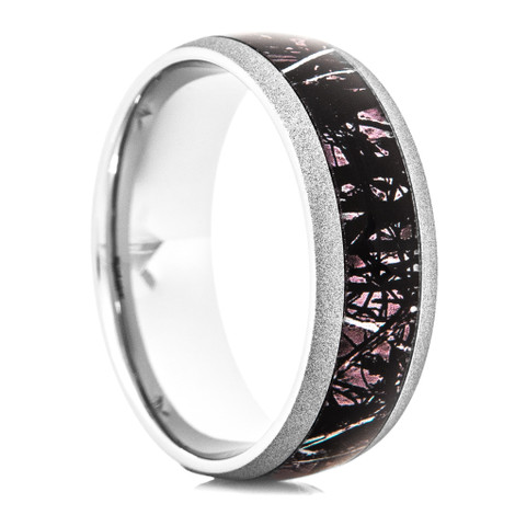 Harvest Moon by Sirphis™ Camo Wedding Ring