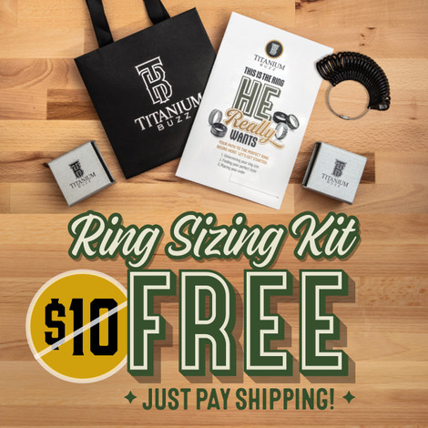 Titanium Buzz Free Ring Sizers