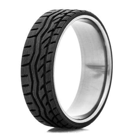TiCore Carbon Fiber Tread Rings