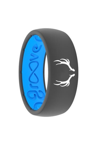Groove Life Silicone Ring- Antler Embossed Ring