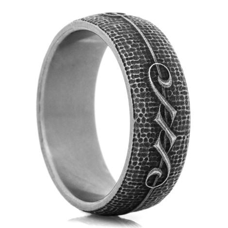 The Titanium Rebel Ring