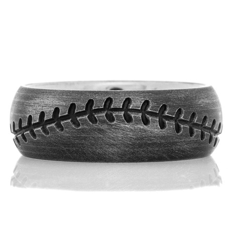 The Titanium Mickey Mantle Ring
