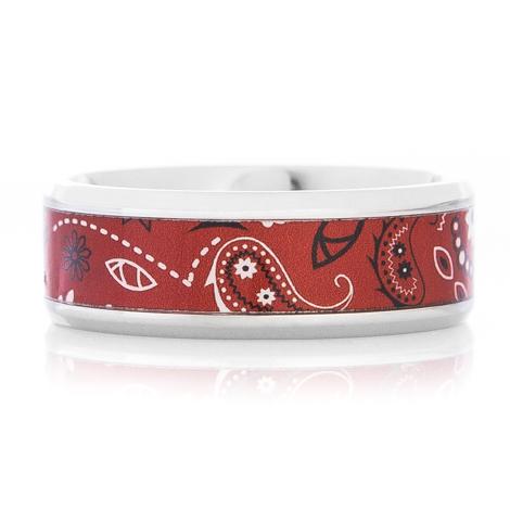 Red Bandana Ring