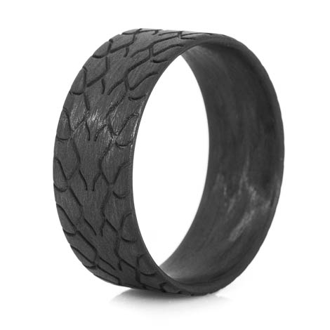 Men's Carbon Fiber Drag Radial Tire Tread Ring