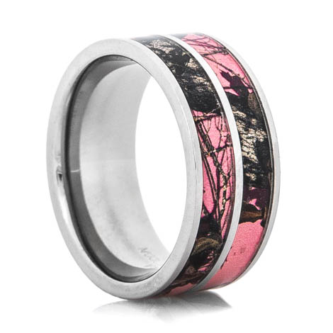 Women's Dual Pink Mossy Oak Ring