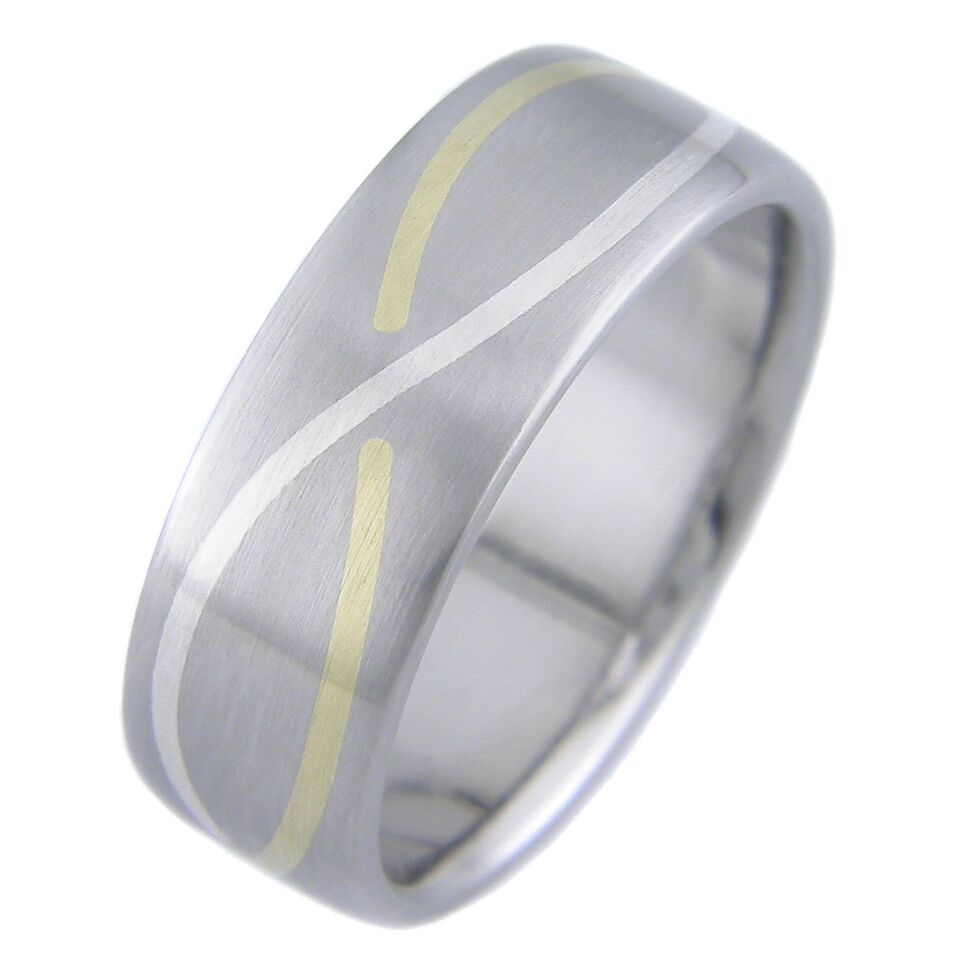 Gold and Platinum Infinity Band