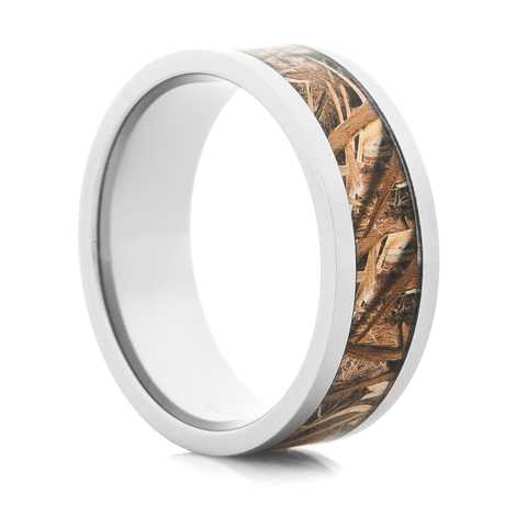 Men's Mossy Oak Blades Camo Ring
