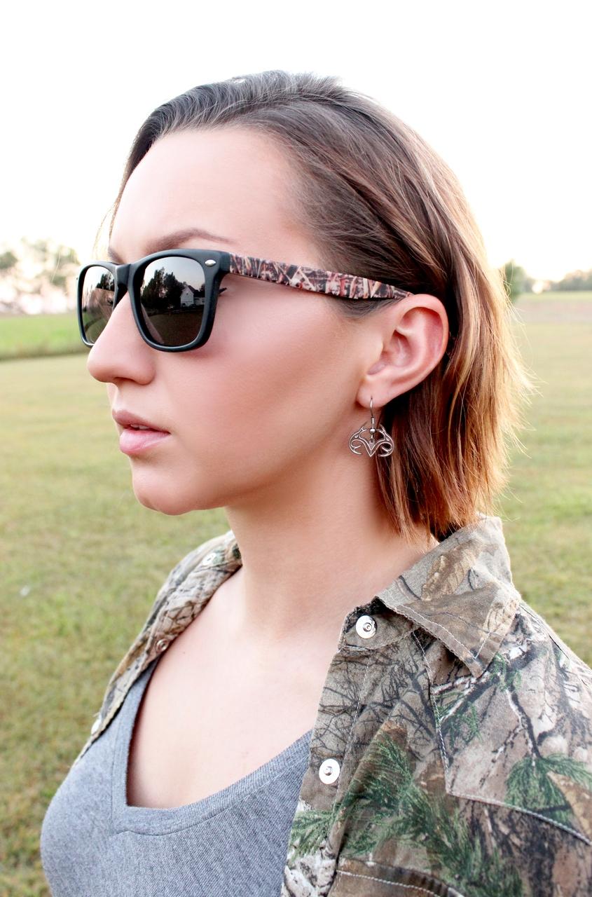 Realtree Earrings-Dangle